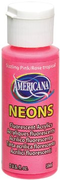Americana Acrylic Neon - Sizzling Pink