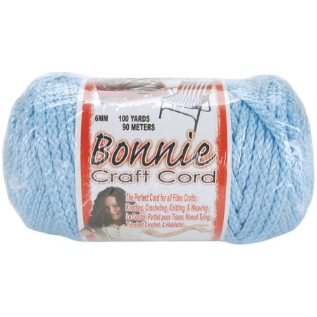 Macrame Craft Cord 6mmX100yd - Sky Blue