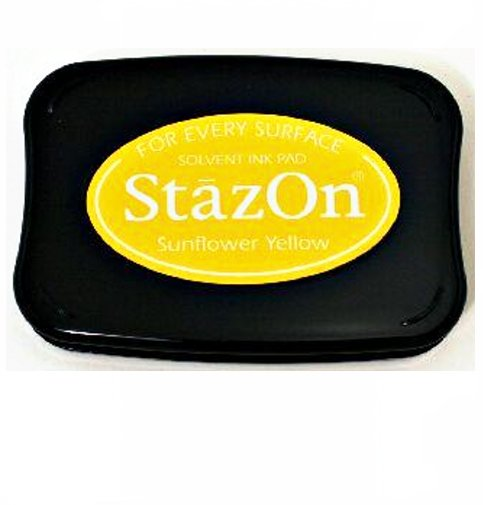 דיו יבש - Stazon - Sunflower Yellow