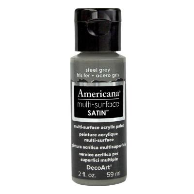 Americana Multi-Surface Acrylic Paint - Steel Grey