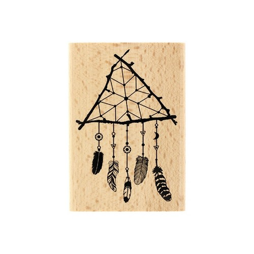 חותמת עץ - Attrape Reve Nature