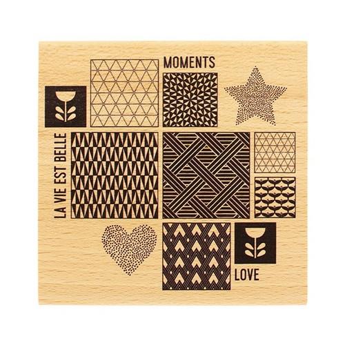 חותמת עץ - Inspiration Scandinave