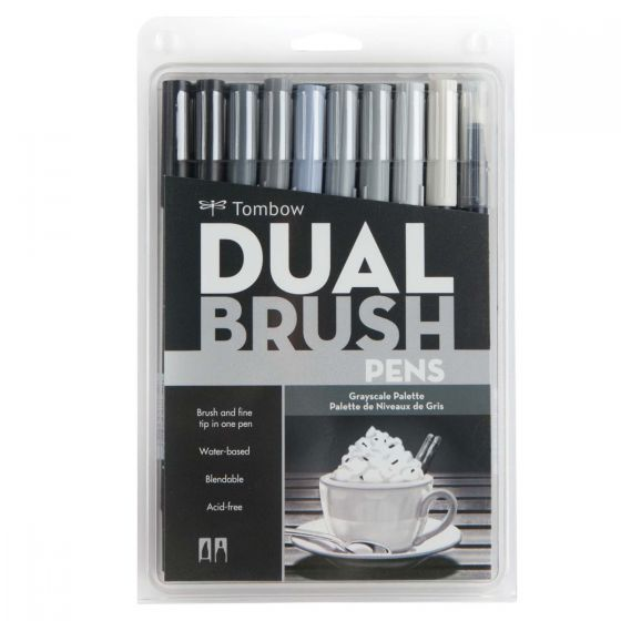 סט טושיםDUAL BRUSH-GRAYSCALE