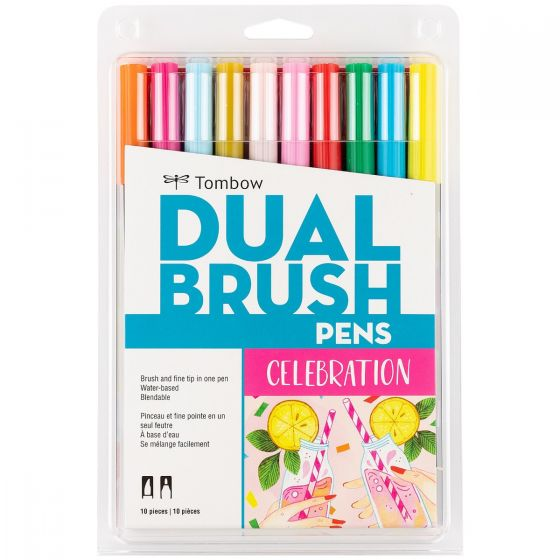 סט טושיםDUAL BRUSH-  CELEBRATION