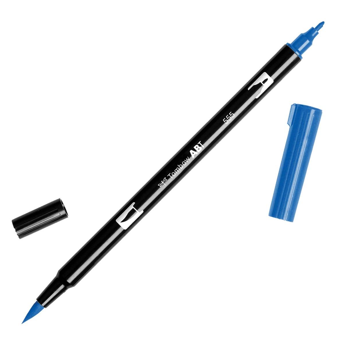 טוש Dual Brush Pen Art Marker- 555