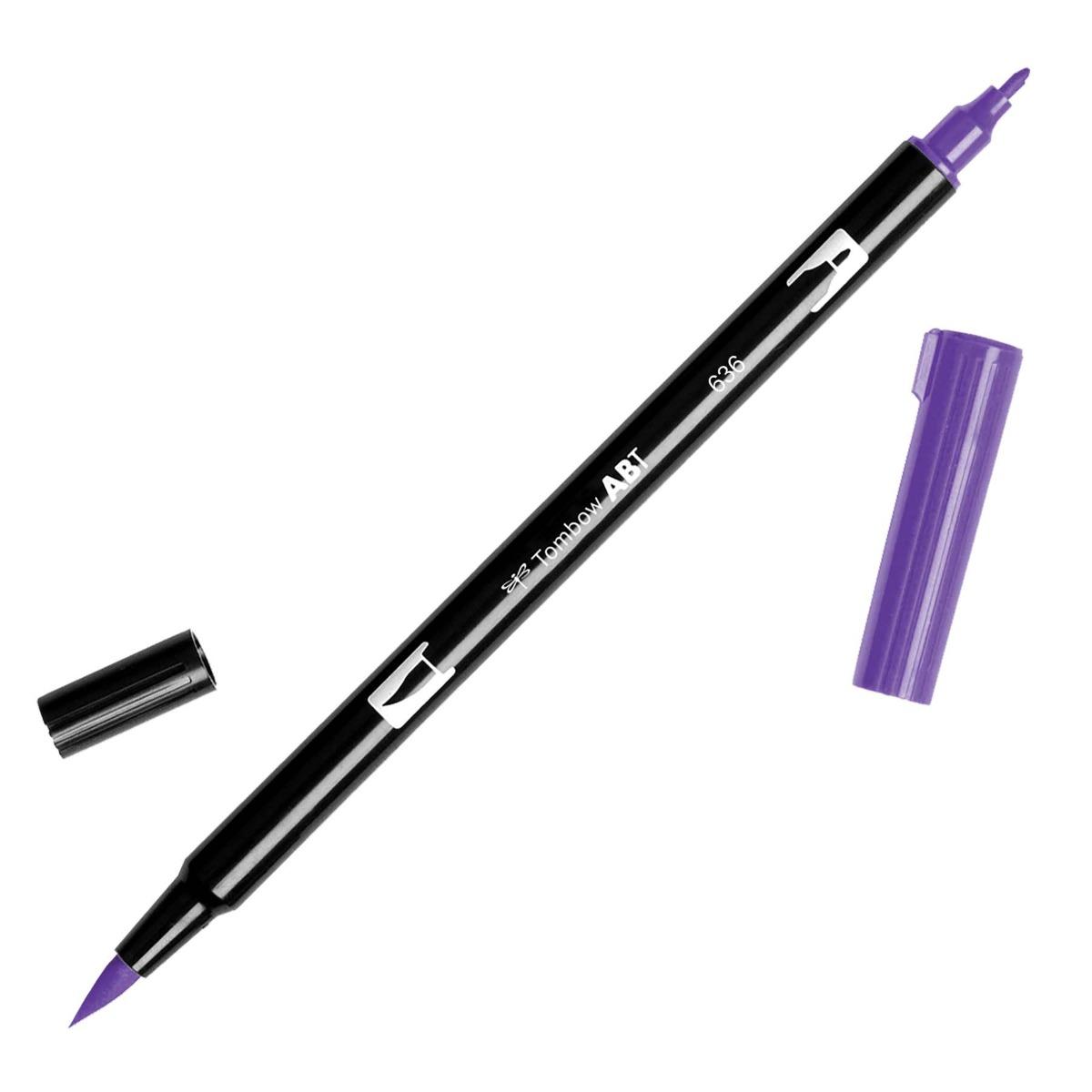 טוש Dual Brush Pen Art Marker- 636