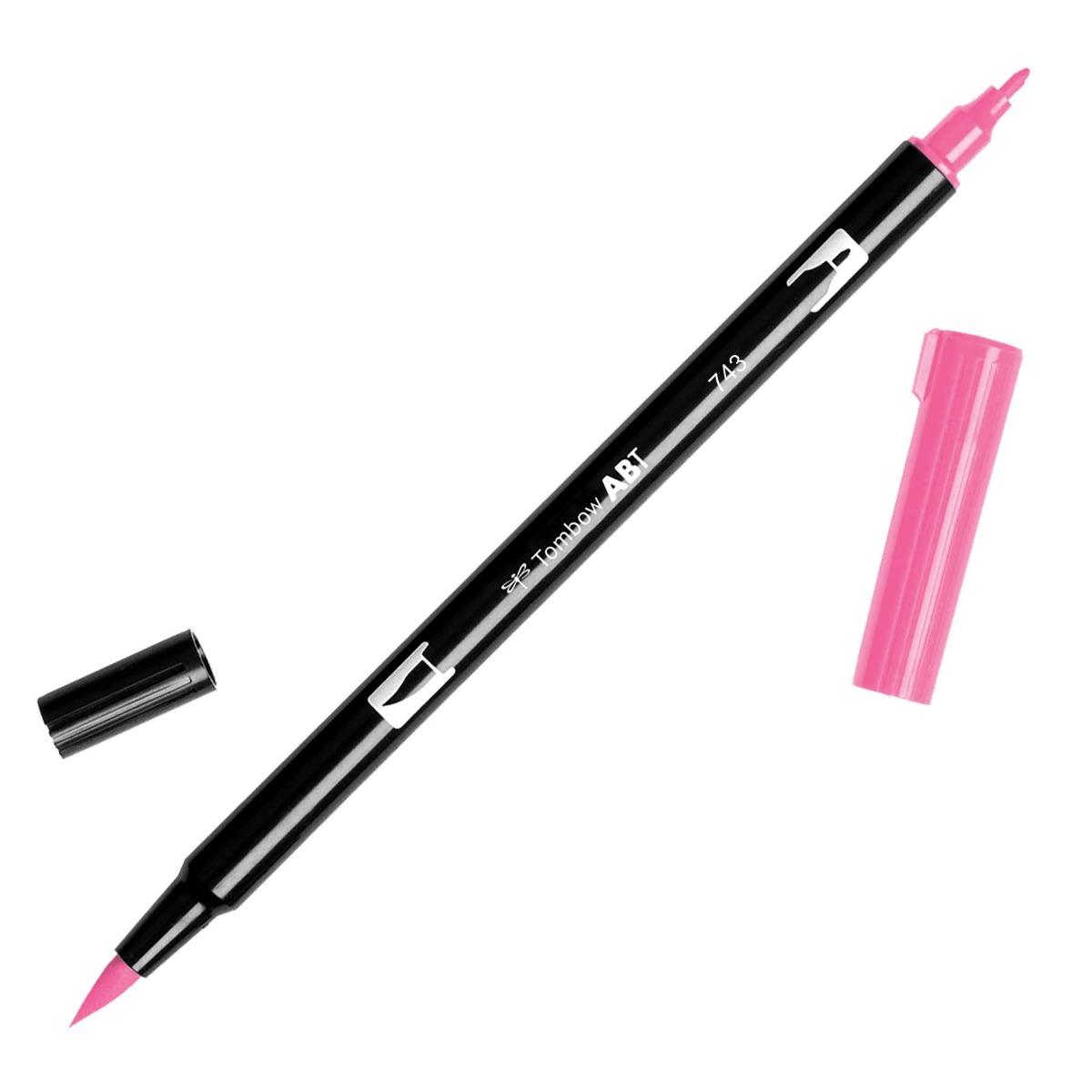 טוש Dual Brush Pen Art Marker-743