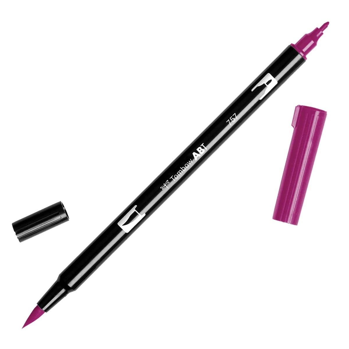טוש Dual Brush Pen Art Marker-757