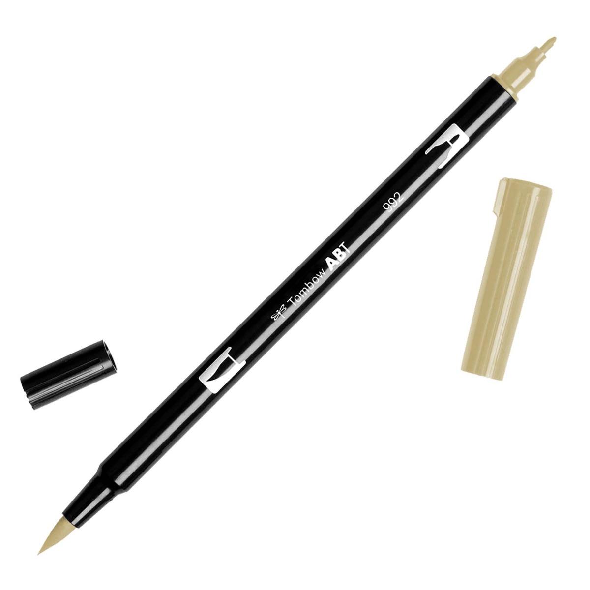 טוש Dual Brush Pen Art Marker-992