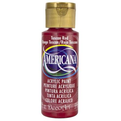 Americana Acrylic Paint - Tuscan Red