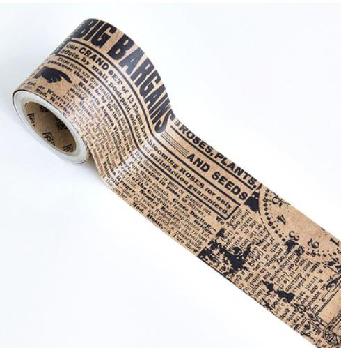 נייר דבק קראפט - דפוס