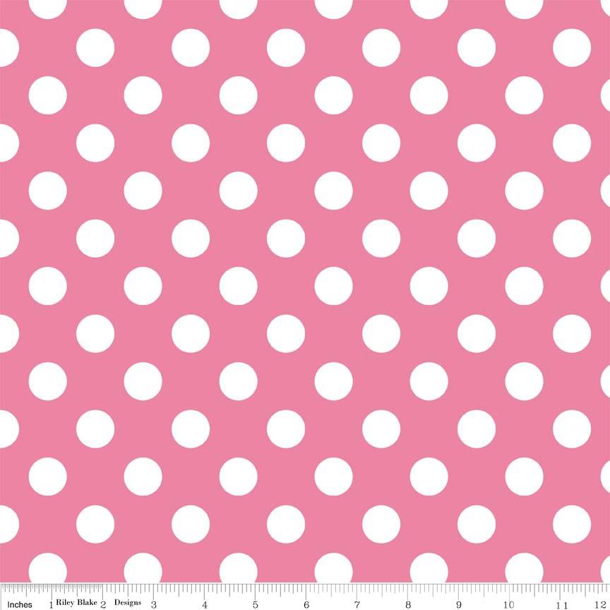 Wideback Medium Dot Hot Pink WB360-70