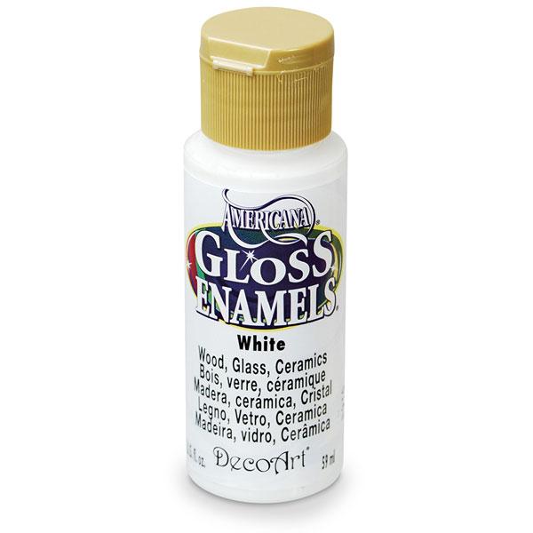 Americana Gloss Enamels - White