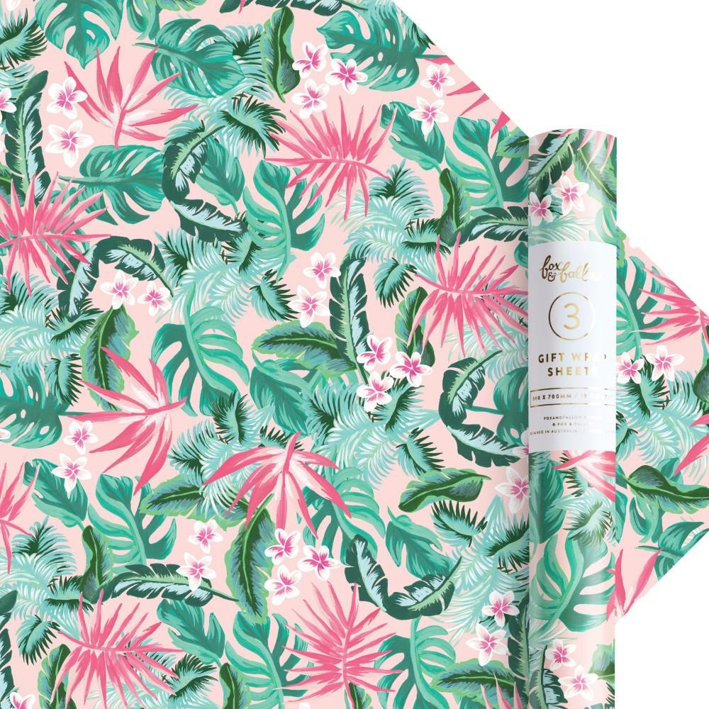 נייר עטיפה- Aloha Gift Wrap