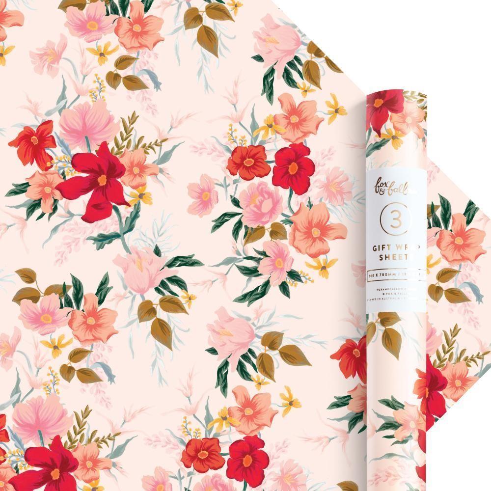נייר עטיפה- Poppy Gift Wrap