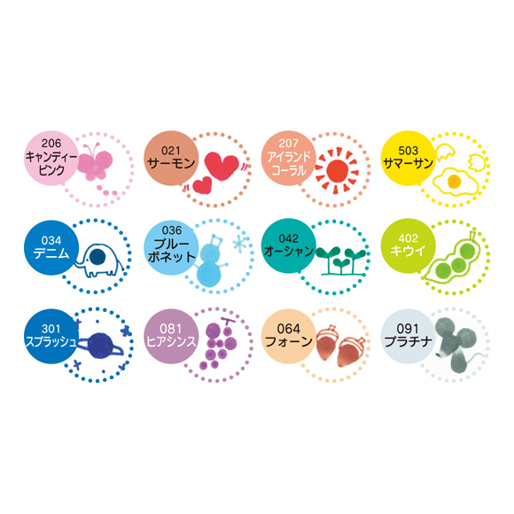טושים Zig Clean Color  Dot - Set of 4