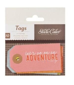 Abroad Printed Tags - Bits